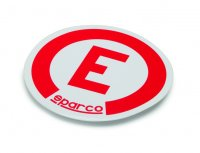 Sparco Extinguisher 'E' Sticker