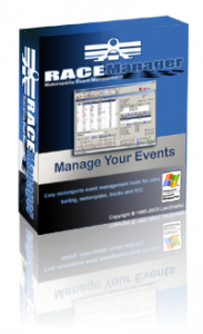 Race Manager software for organizations
